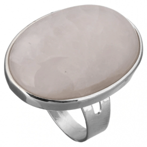 Statement Ring Met Witte Steen. Klik hier voor meer grote ringen met stenen. Shop alle musthave sieraden bij Aphrodite. Gratis verzending en cadeau.