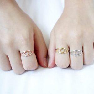 simpele oog ring.Voor meer leuke ringen klik hier.Shop alle musthave sieraden bij aphrodite.Bestel snel en veilig.Gratis verzending en cadeau.