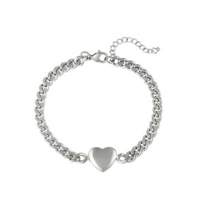 schakelarmband, hartje, goud, zilver, rvs, roestvrij staal, stainless steel, sieraden, accessoires