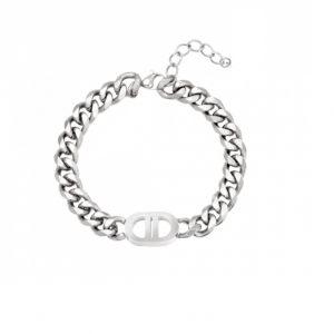 schakelarmband, zilver, stainless steel, roestvrije staal, sieraden, dames, jewellery, jewelry