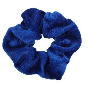 scrunchie, blue, accessoiries