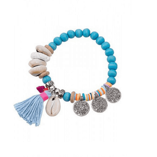ICANDY Bracelet With Coins. Click here for more beautiful bracelets. Shop all musthave jewellery by Aphrodite. Free worldwide shipping and gift.