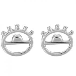 Zilveren Oog Oorbellen. Klik hier voor meer mooie subtiele oorbellen. Shop alle musthave sieraden bij Aphrodite. Gratis verzending en cadeau.