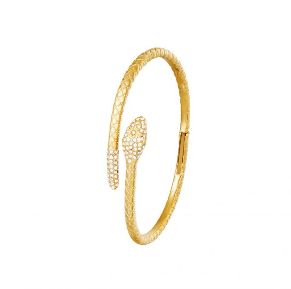 snake bracelet, jewellery, zirkonia, stainless steel