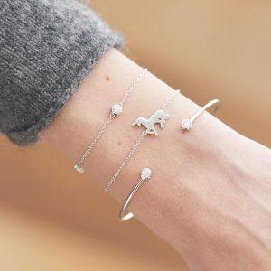 armbanden set,unicorn,goud,sieraden,musthave