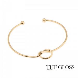 Gouden Knoop Cuff Armband.Klik hier voor meer leuke armbanden.Shop alle musthave sieraden bij aphrodite. Gratis verzending en cadeau.Bestel snel en veilig.