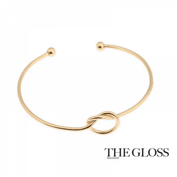 Gold Cuff With Knot.Click here for more beautiful bracelets. Shop all musthave jewellery by Aphrodite. Free worldwide shipping and gift.
