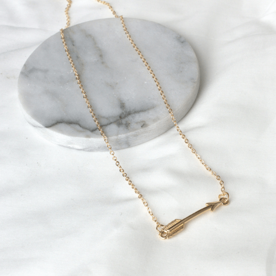 carly grande products silver necklace jean arrow image angeles los