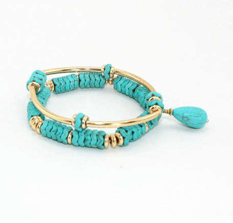 Blue Beads Bracelet Set. Click here for more beautiful bracelets. Shop all musthave jewellery by Aphrodite. Free worldwide shipping and gift.