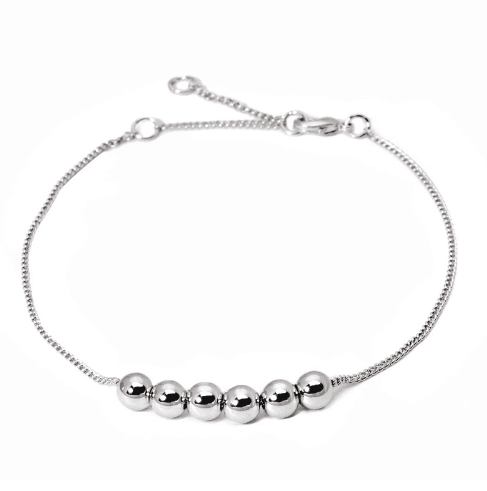 Silver Bracelet With Beads. Click here for more delicate bracelets. Shop all musthave jewellery by Aphrodite. Free worldwide shipping and gift.