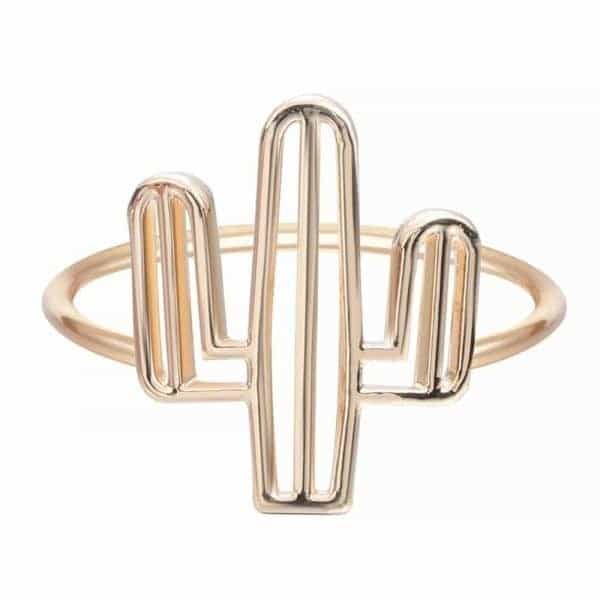 Gold Cactus Ring. Click here for more lovely rings. Shop all musthave jewellery by Aphrodite. Free worldwide shipping and gift.