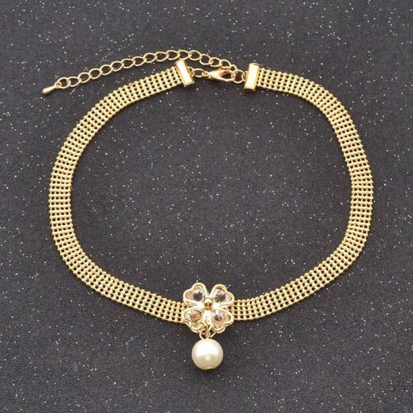Gold Choker With Pearl. click hear to shop more beautiful chokers. Shop all musthave jewellery by aphrodite. Free worldwide shipping and gift.