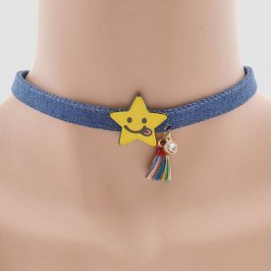 Choker With Star. click hear to shop more beautiful chokers. Shop all musthave jewellery by aphrodite. Free worldwide shipping and gift.