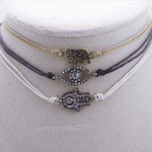 3 Pcs Evil Eye Choker Set.click hear to shop more beautiful chokers. Shop all musthave jewellery by aphrodite. Free worldwide shipping and gift.