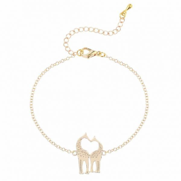 Giraffe Bracelet. Click here for more delicate bracelets. Shop all musthave jewellery by Aphrodite. Free worldwide shipping and gift.
