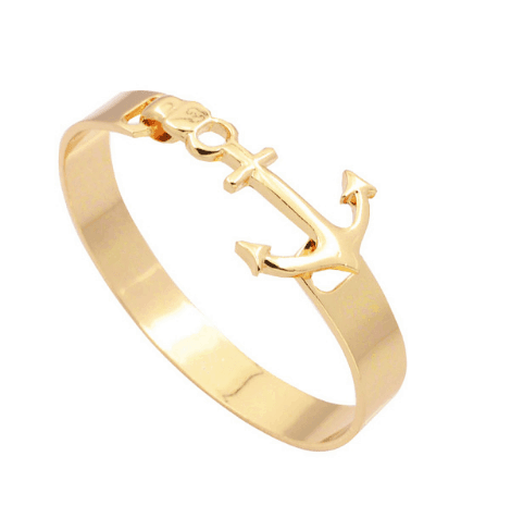 goud anker armband, statement, sieraad, anchor, mooi