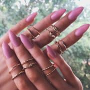 12 Pcs Gold Ring Set.click hear to shop more beautiful rings. Shop all musthave jewellery by aphrodite. Free worldwide shipping and gift.