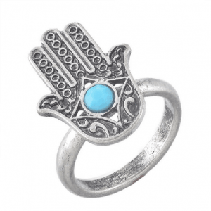 Hamsa Hand Ring. Click here for more beautiful rings. Shop all musthave jewellery by Aphrodite. Free worldwide shipping and gift.