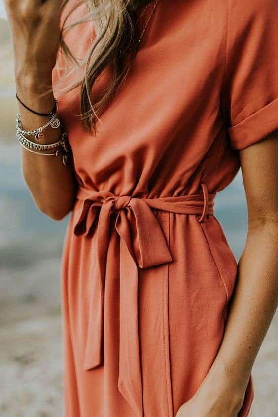 jumpsuit, overslagjurkje, met elastische armbandje