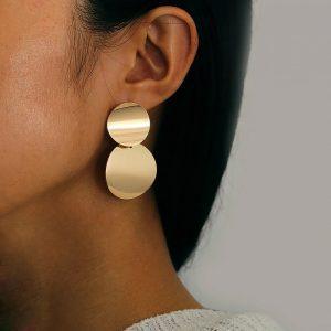 grote, statement oorbellen,dames,goud