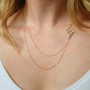 Gouden Laagjes Ketting. Klik hier voor meer leuke kettingen. Shop alle musthave sieraden bij Aphrodite. Gratis verzending en cadeau.