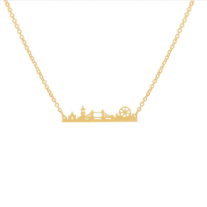 London Gold Necklace. Click here for more beautiful delicate necklaces. Shop all musthave jewellery by Aphrodite. Free worldwide shipping and gift.