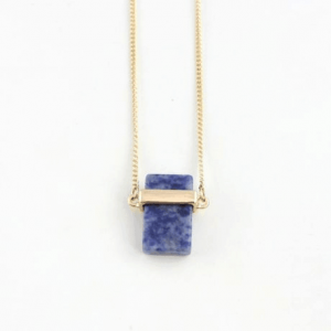 Natural Stone Necklace Purple. Click hear for more beautiful layered necklaces.Shop all musthave jewellery by aphrodite.Free worldwide shipping.