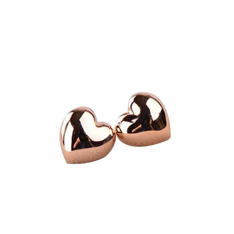 goud hart oorstekers. Klik hier voor meer leuke oorbellen. Shop alle musthave sieraden bij aphrodite. Gratis verzending en cadeau.