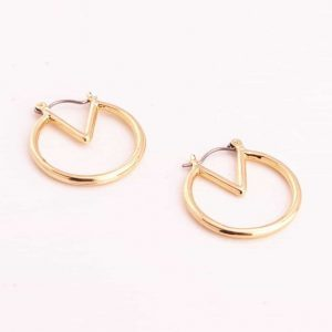Gold Geometric Earrings.Click here for more delicate earrings. Shop all musthave jewellery by Aphrodite. Free worldwide shipping and gift.