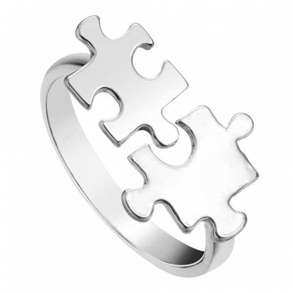 Puzzel ring-zilverVoor meer leuke ringen klik hier.Shop alle musthave sieraden bij aphrodite.Bestel snel en veilig.Gratis verzending en cadeau.