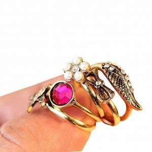 5 Pcs Ring set. click hear to shop more beautiful rings. Shop all musthave jewellery by aphrodite. Free worldwide shipping and gift.