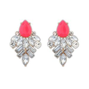 Pink Statement Earrings. Click here for more beautiful statement earrings. Shop all musthave jewellery by Aphrodite. Free worldwide shipping and gift.