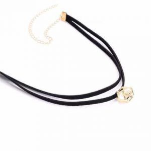 Layered Choker With Pendant. Click here for more beautiful chokers. Shop all musthave jewellery by Aphrodite. Free worldwide shipping and gift.