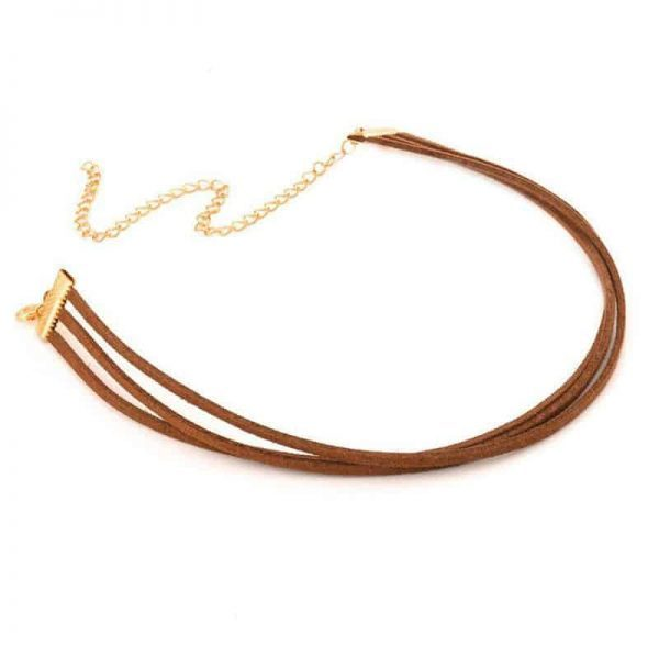 Brown Layered Choker. click hear to shop more beautiful chokers. Shop all musthave jewellery by aphrodite. Free worldwide shipping and gift.