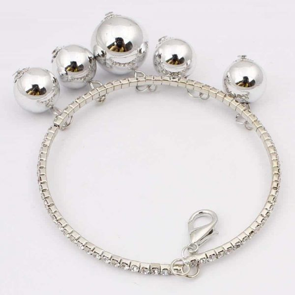 Bracelet With Rhinestones.Click here for more beautiful crystal bracelets. Shop all musthave jewellery by Aphrodite. Free worldwide shipping and gift.