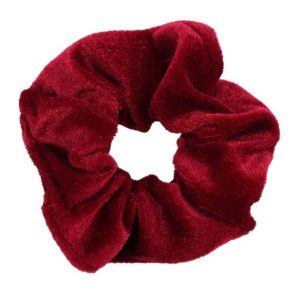 scrunchie, red, accessoires