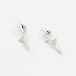Silver Bird Earrings. Click here for more cute earrings. Shop all musthave jewellery by Aphrodite. Free worldwide shipping and gift.