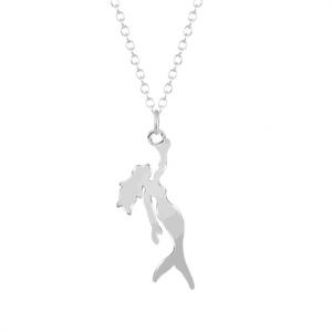 Zilveren Zeemeermin Ketting. Klik hier voor meer mooie subtiele kettingen. Shop alle musthave sieraden bij Aphrodite. Gratis verzending en cadeau.