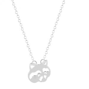 Zilveren Wasbeer Ketting. Klik hier voor meer leuke subtiele kettingen. Shop alle musthave sieraden bij Aphrodite. Gratis verzending en cadeau.