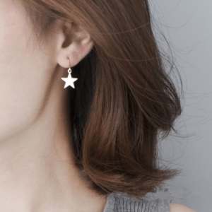 Simple Star Earrings.Click here for more delicate earrings. Shop all musthave jewellery by Aphrodite. Free worldwide shipping and gift.